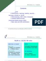 Wireless vs. mobile