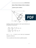Strain Displacement - Polar - 303-Chapter4-1