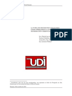 La Toma de Decisiones utilizando como herramienta los Sistemas de Información Gerencial (SIG)