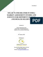 GKSPL_SWH Market Assessment_Final Report