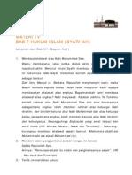 Hukum Islam Bagian 2