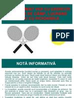 Exercitii Incalzire Tenis RO
