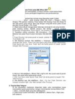 Membuat Animasi PowerPoint 2007