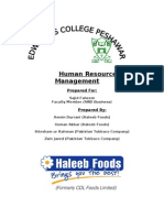 Human Resource(PTC)Management