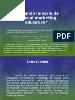 Aplicando minería de datos al marketing - simulacion