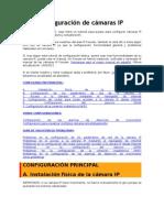 Configuración de cámaras IP