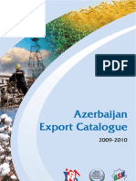 Azerbaijan Export Catalogue 2009-2010