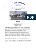 1991 55 Foot Vitech Sedan/Yachtfish Specs.