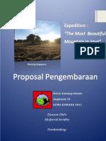 Proposal Pendakian Gue