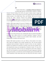Project of Mobilink
