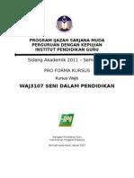 Pro Forma Kursus SDP Jun2011 Pearl Int.x1