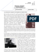 ANÁLISIS LITERARIO - Desolación - I Medios
