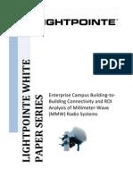 LightPointe MM Wave Enterprise Connectivity White Paper