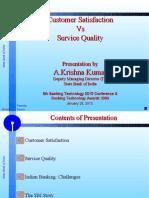 SBI- Mr Krishna Kumar- Customer Sat vs Serv Qty (1)