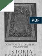 Istoria românilor  pentru clasa VIII-a secundară