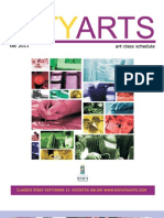City Arts Fall 2011 Brochure PDF