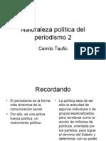 Naturaleza política del periodismo 2