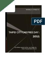 Rethinking Car Free Days in Taipei City-Final-11oct11