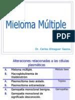 Mieloma múltiple y Macroglobulinemia de Waldenström