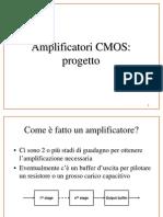 Progettazione Amplificatore Operazionale in tecnologia CMOS