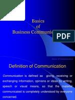 1.Basics of Business Communication