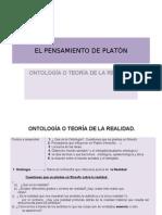 EL PENSAMIENTO DE PLATÓN