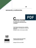 ciencia y tecnología para desarrollo sostenible