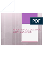 History of Occupational Safety and Health