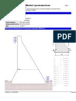 CADAM 2000 - Model Parameters