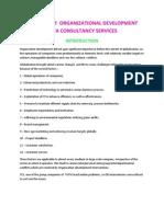 Analysis of Organizational Development Tata Consultancy Services
