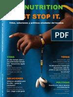 Malnutrition Just Stop It (español)