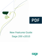 Sage200v7002010New Features Guide