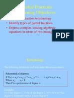 Lesson4 Partial Fractions