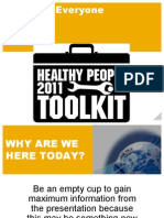 Health Tool Kit Test