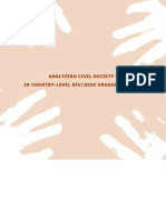 aids_ungass_report on civil society role in HIV