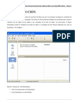 Creacion de Formularios Open Office Base