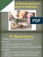 Historia Moderna Del Absolutismo Al Despotism