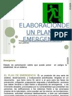 ELABORACIÓNDE UN PLAN DE EMERGENCIA