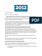 Memo -- Americans Support Passage of the Jobs Act - Axelrod