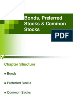 Bonds, Preferred Stocks and Common Stocks