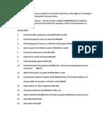 1.Samad Enterprise PreTrial Balance
