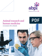 Animal Research and Human Medicine Booklet
