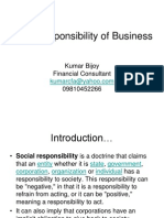 Social Responsibility of Business 1196101333820076 2