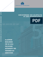 EZB DURCHFÜHRUNG DER GELDPOLITIK