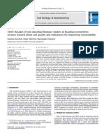 2010 - KASCHUK, Et Al. Three Decades of Soil Microbial Biomass Studies in Brazilian Ecosystem