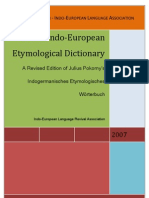 Pokorny In Do European Dictionary