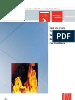EU Fire Resistance EN13501 070908