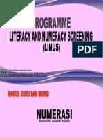 Program LINUS Numerasi