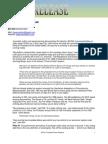 Presidential Press Release-10 11 2011
