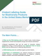 US Product Labeling Guide (Josef Brinckman)